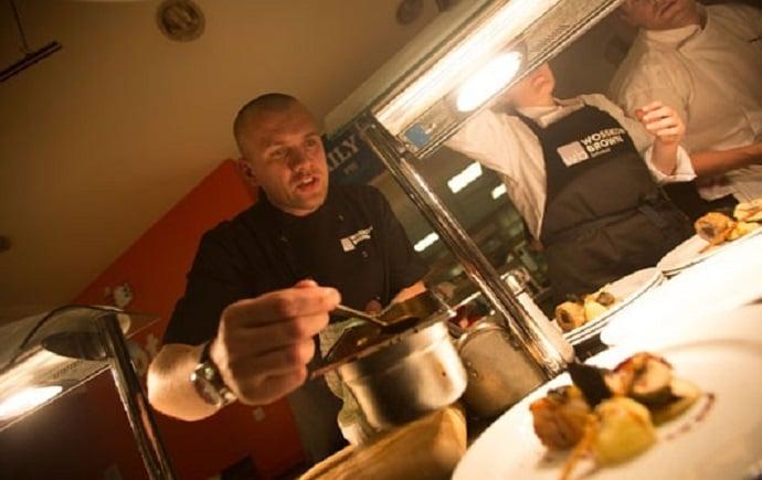 shef's kitchen chef