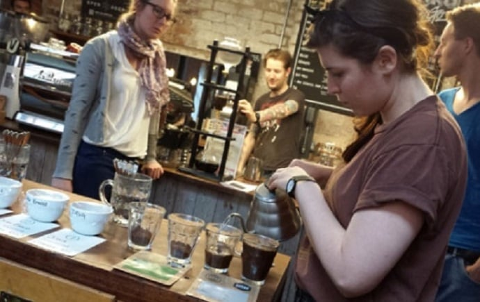 tamper coffee workshop