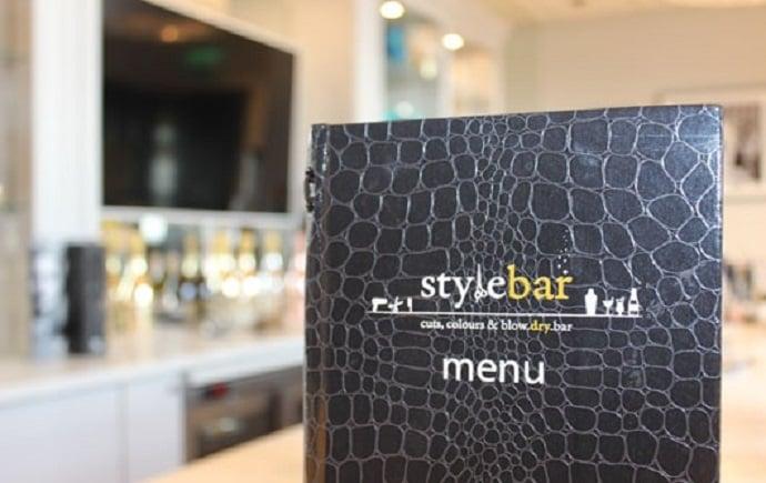 The style bar sheffield menu