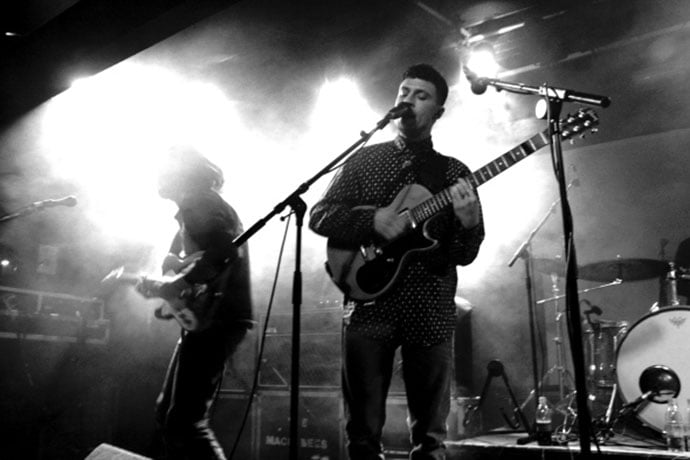 The Maccabees at The Leadmill in 2012. Photo: Jess Young