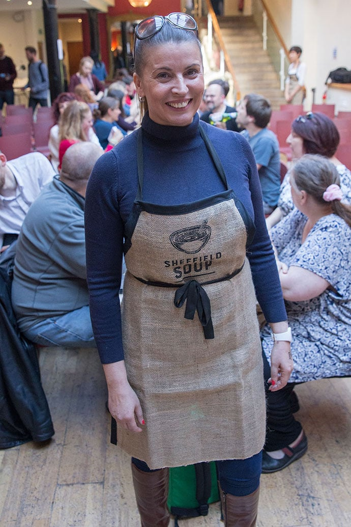 Pennie Raven founder of Sheffield Soup