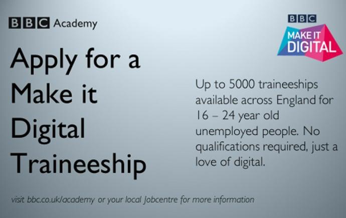 make it digital traineeship