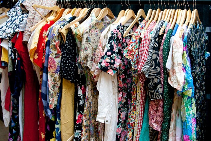 Vintage Kilo Sale Dresses