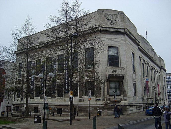 Library Sheffield