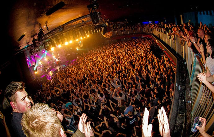 Frank Turner Crowd