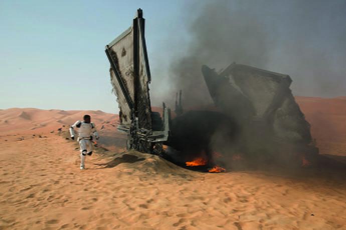 Star Wars: The Force Awakens..Finn (John Boyega)..Ph: David James..©Lucasfilm 2015