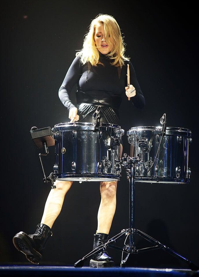 Ellie Goulding performing at Sheffield Arena, Sheffield, United Kingdom on 12 March 2016. Photo by Glenn Ashley.
