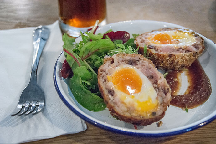 Sentinel Scotch egg