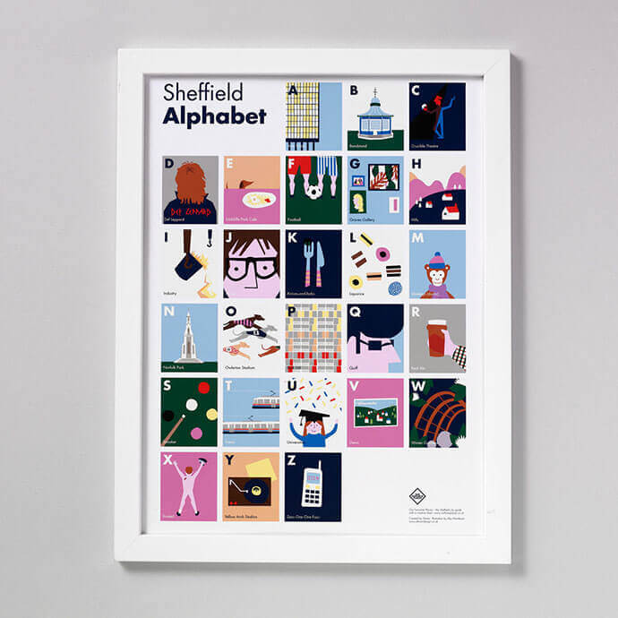 Sheffield Alphabet Father's Day Gift Guide