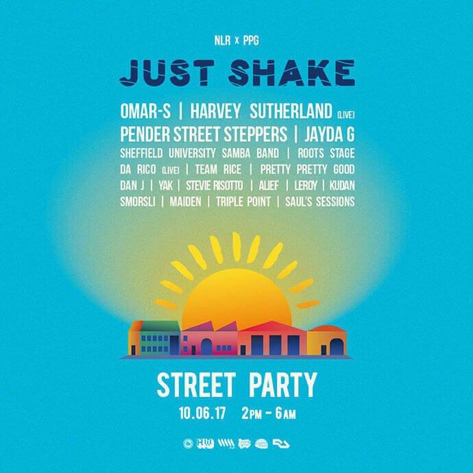 Sheffield street party