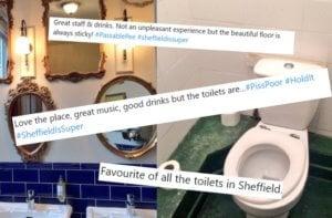 Exposed magazine - sheffield - toilets - twitter - account