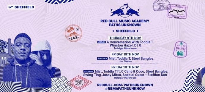 redbull event poster
