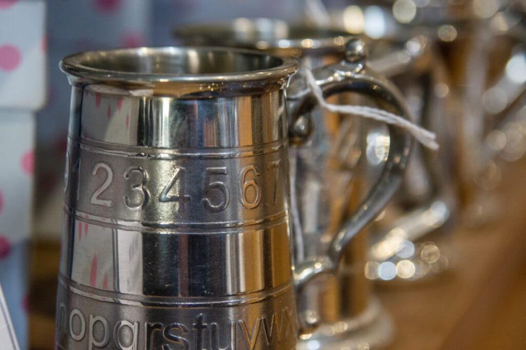 The famous Ecclesall Road shop sells They sell the finest pewter, silver and steel ware made in Sheffield