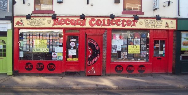 Image showing Record Collector store in Broomhill
