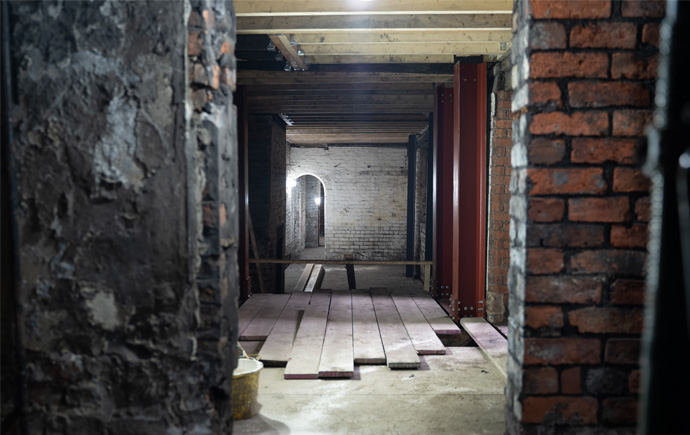 Image showing interior of Leah's Yard in Sheffield