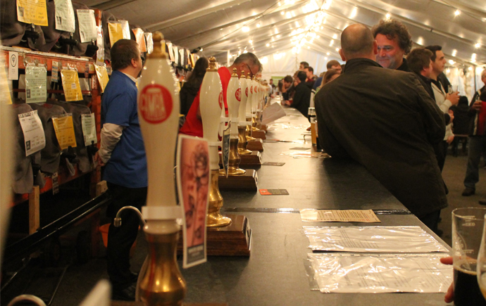 Sheffield Beer and Cider festival in Kelham Island Museum