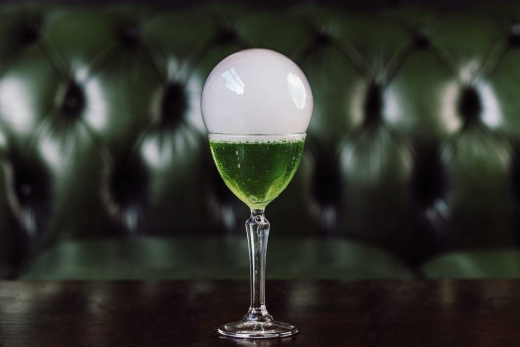 Image of a cocktail at The Old House bar/restaurant in Sheffield