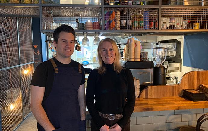 Orange Bird co owners Matthew Duggan-Jones and Anne Horner