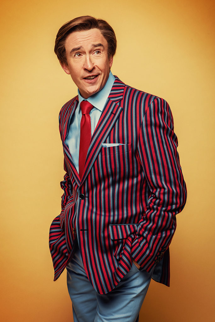 Alan Partridge as Steve Coogan