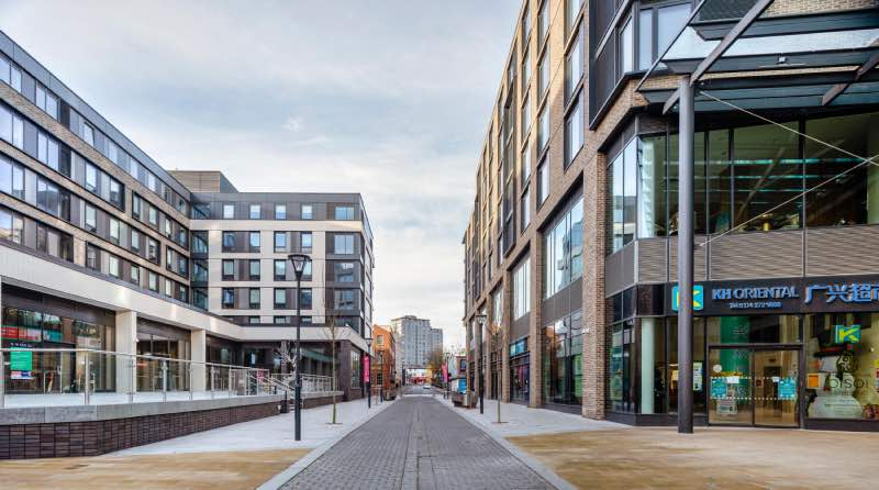 image of New Era Square in Sheffield