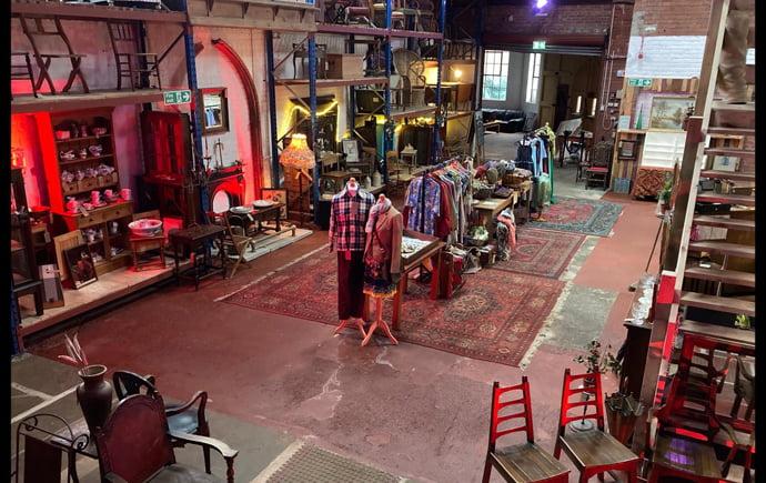 inside The Warehouse in Neepsend