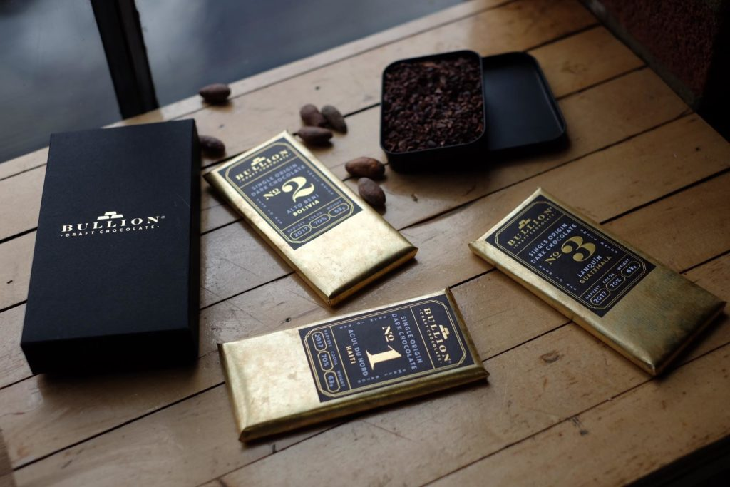 Bullion chocolate products