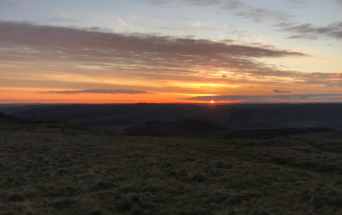 Sunset in the Peaks